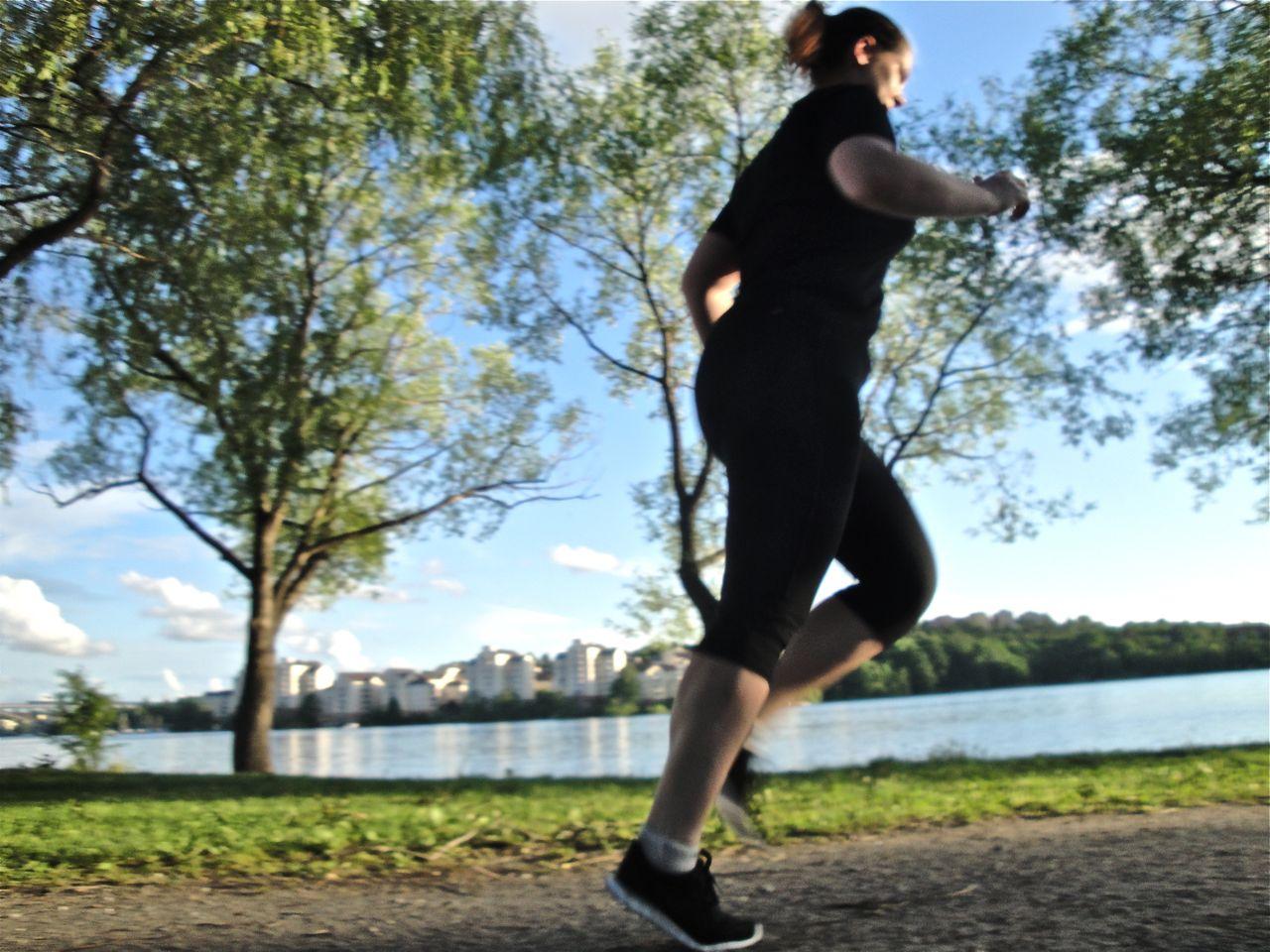 börja jogga överviktig