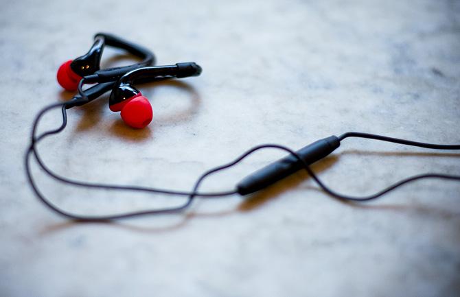 Vinn: tvättbara hörlurar