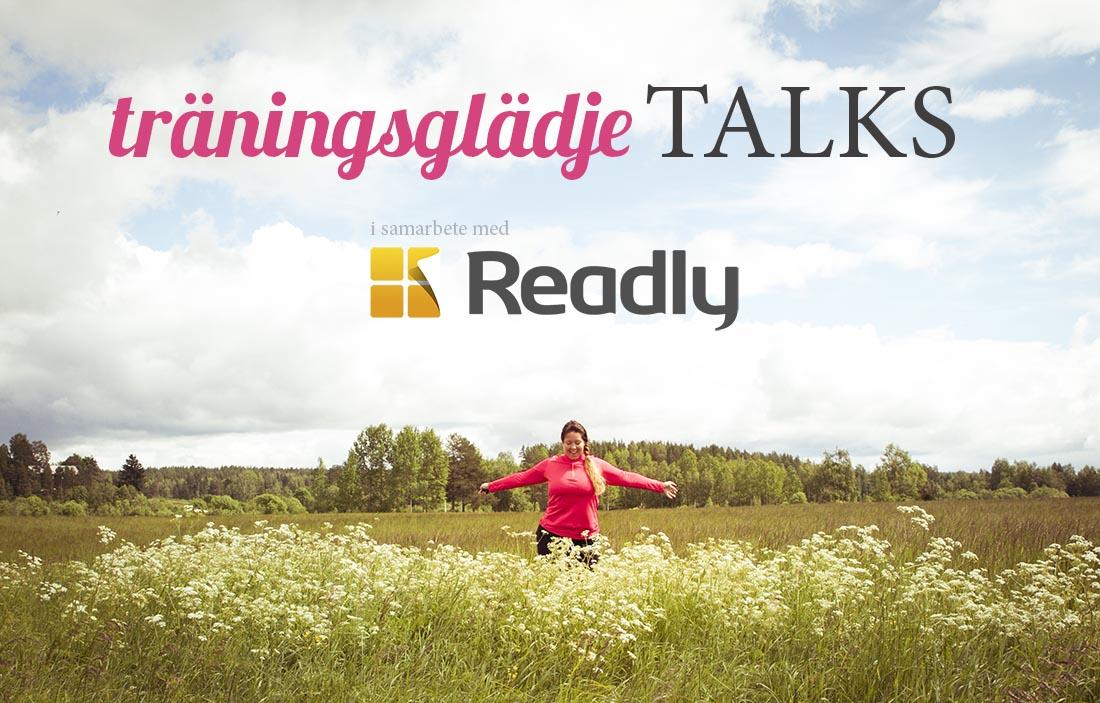 träningsglädje talks readly