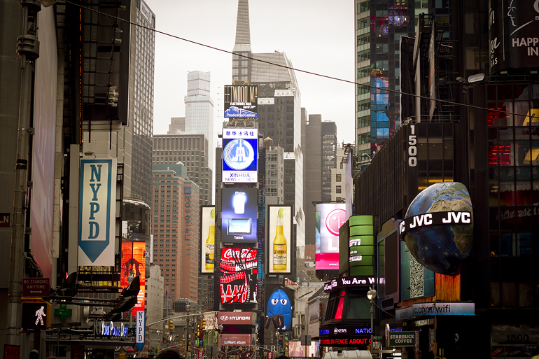 New York Times Square 1