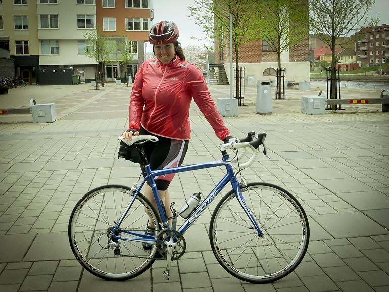 cykla landsväg i halmstad