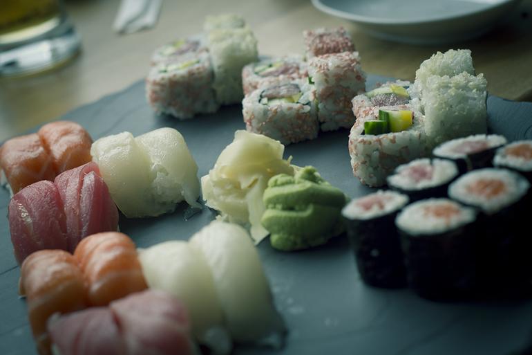 Tromsø 53 rå sushi