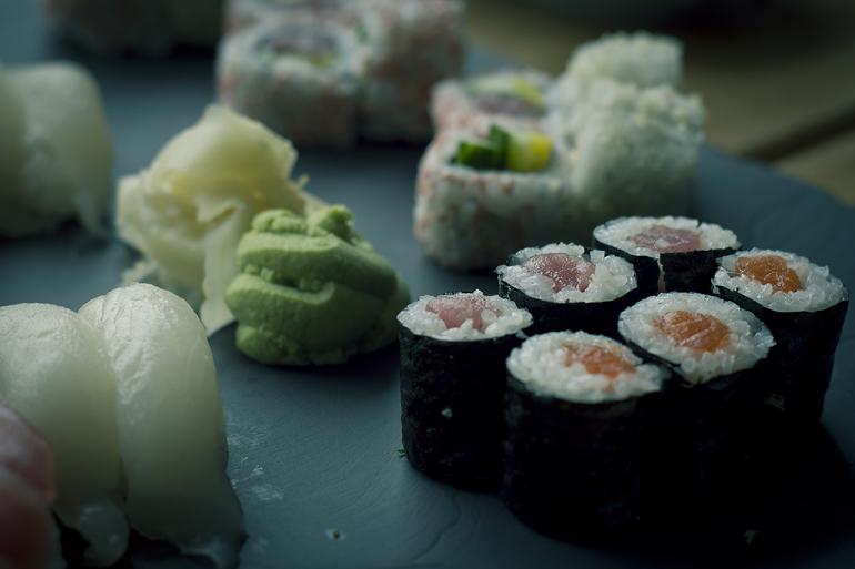 Tromsø 55 rå sushi