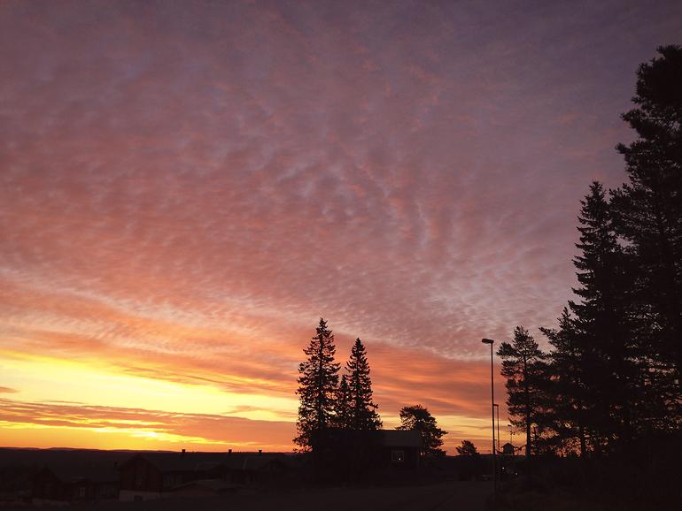 soluppgång sälen 1