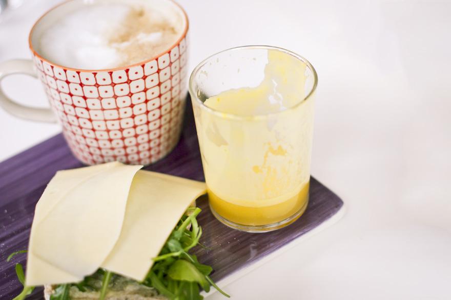 juice apelsin citron ingefäre