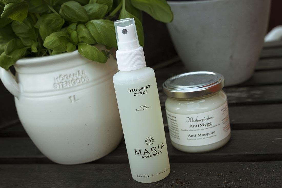 maria åkerberg deospray myggmedel
