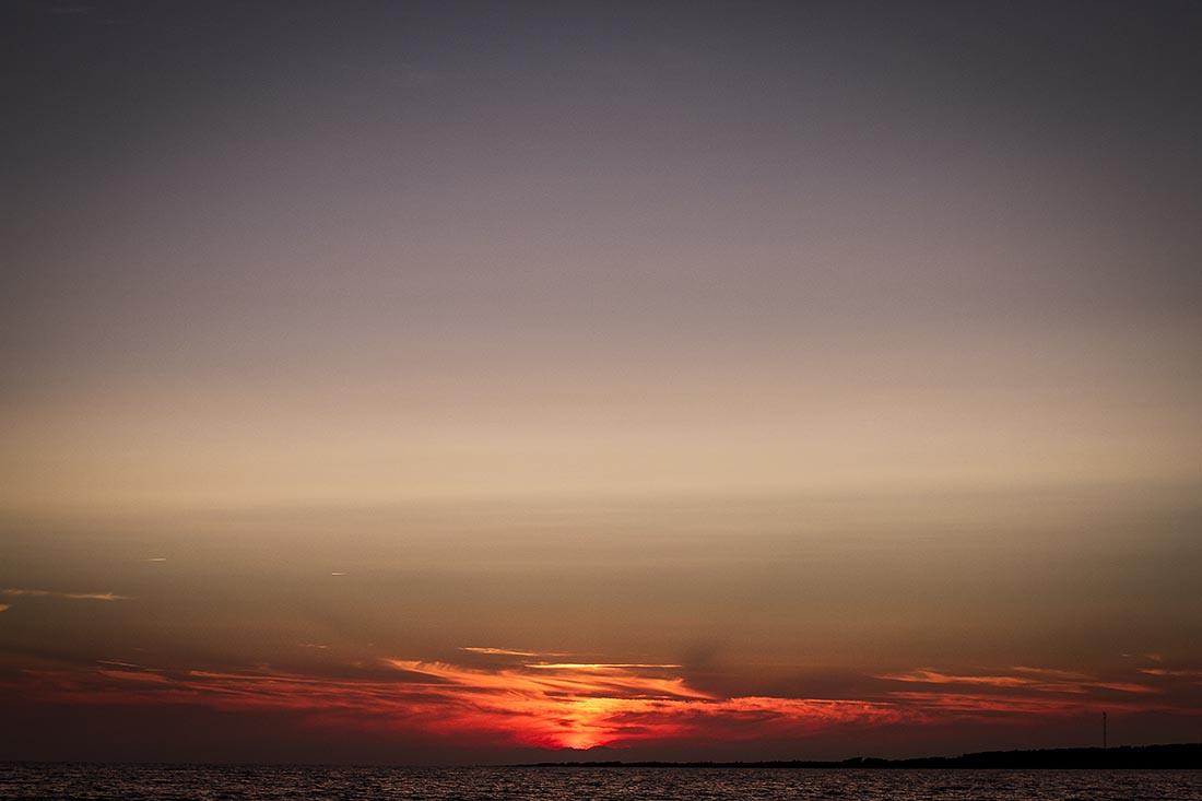 augusti solnedgång tylösand
