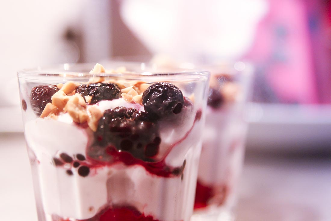 healthy trifle