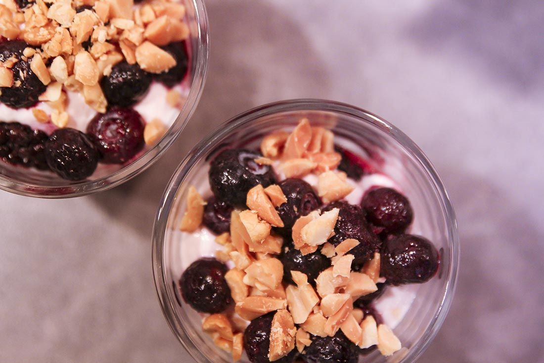 healthy trifle