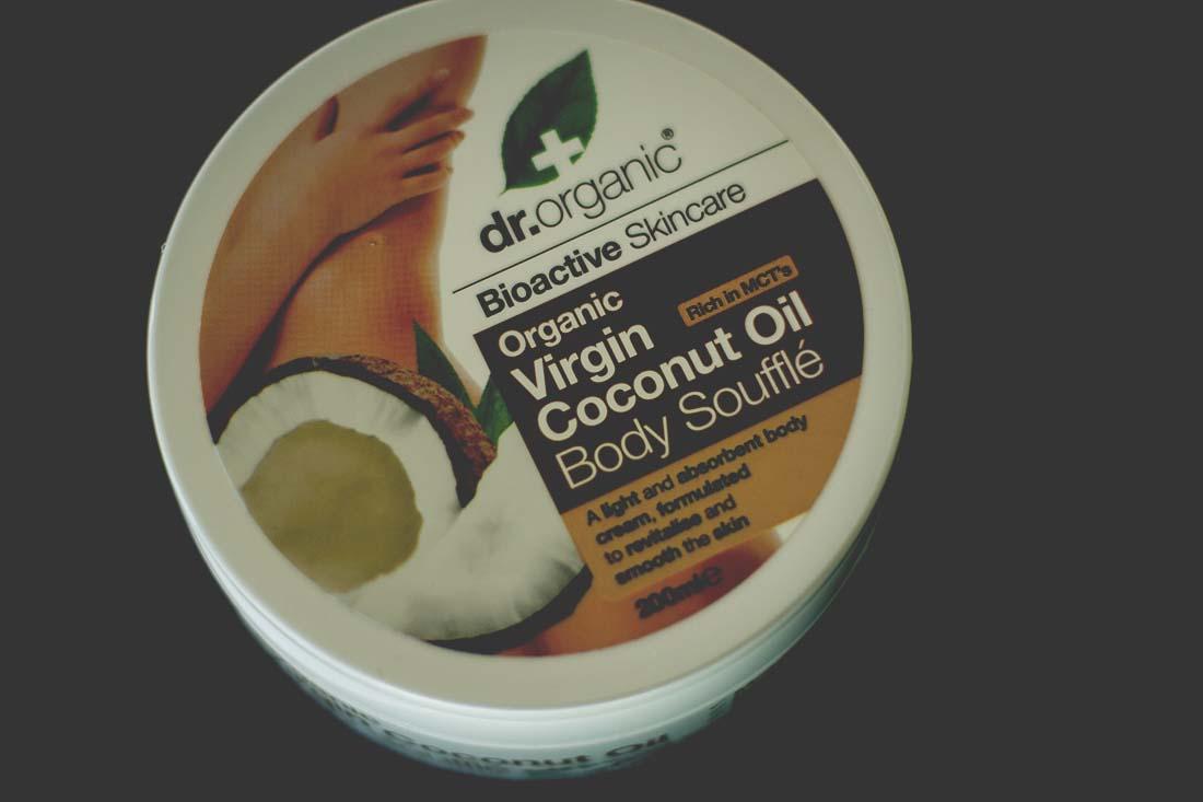 dr organic ekologisk body butter