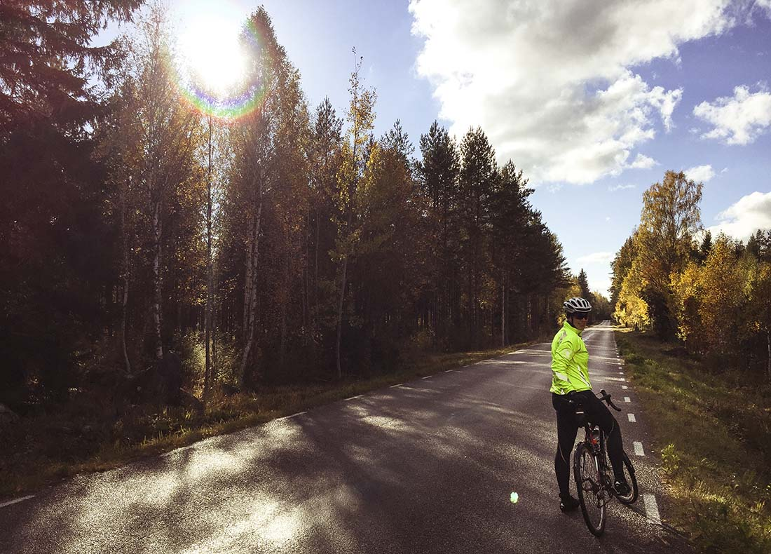 cykling i högbo
