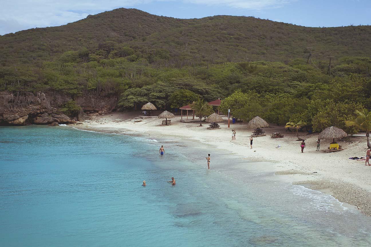 best beach in curacao Groot Knip beach