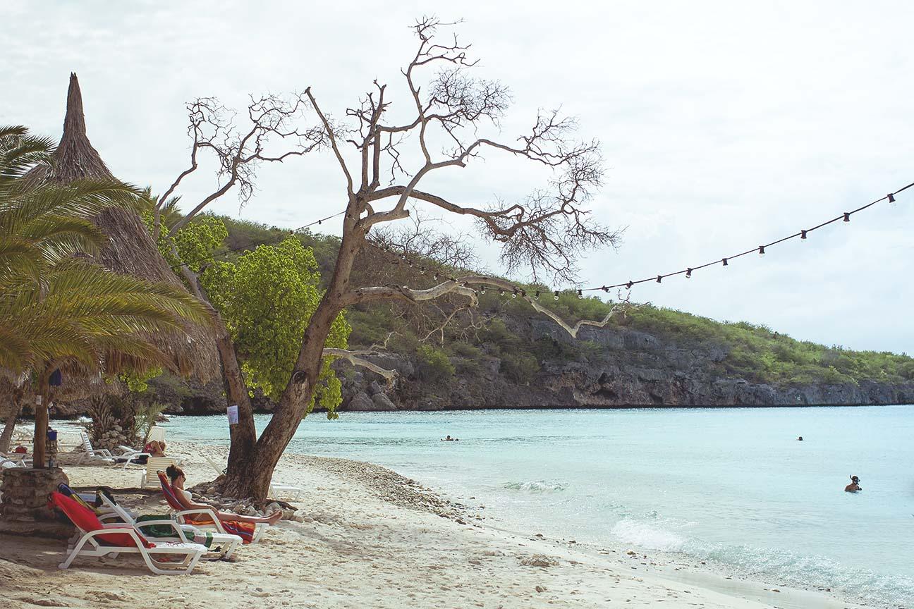 best beach in curacao Cas Abou beach