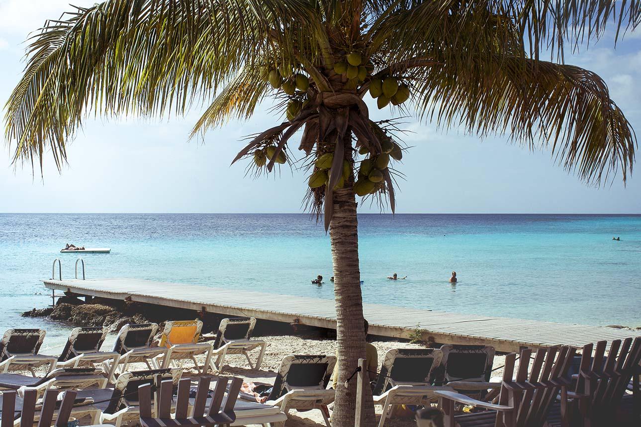 best beach in curacao Portomari beach