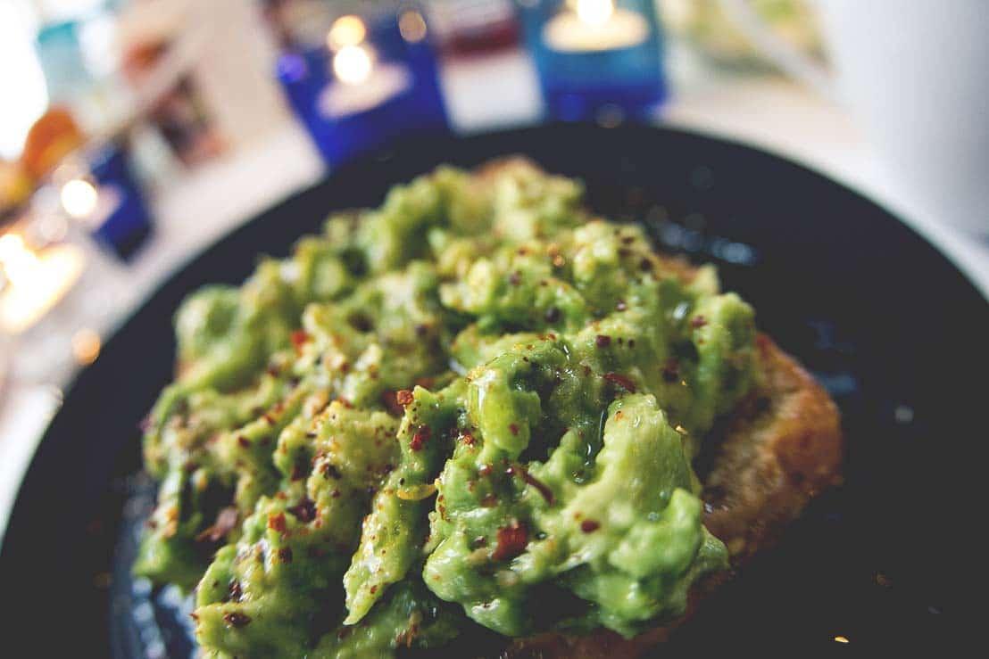 avokado smörgås
