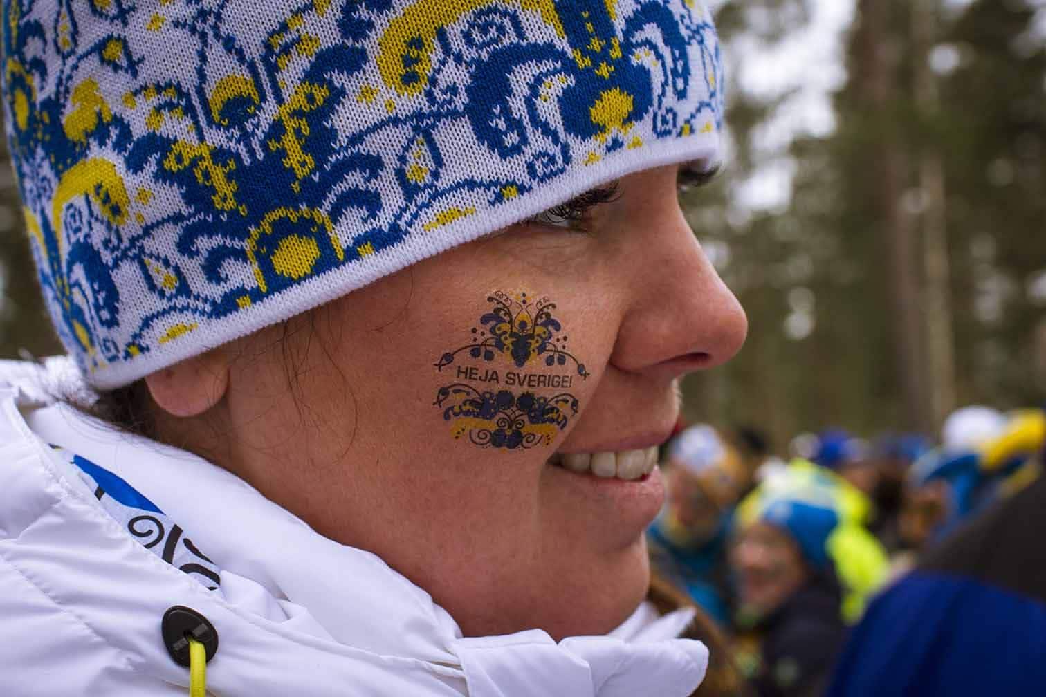VM i Falun Sara Träningsglädje