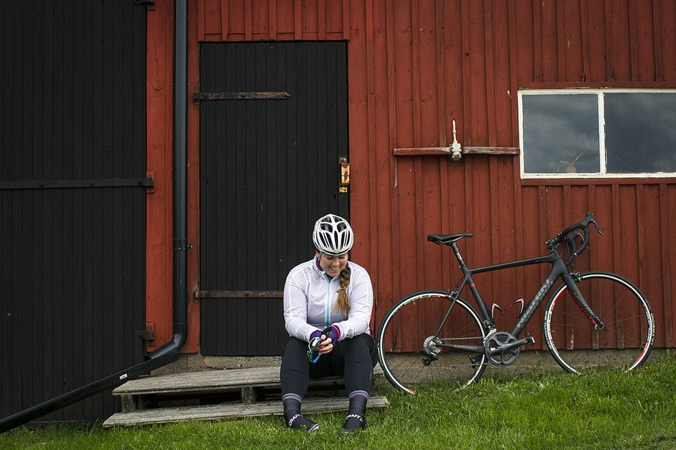 sara cykling