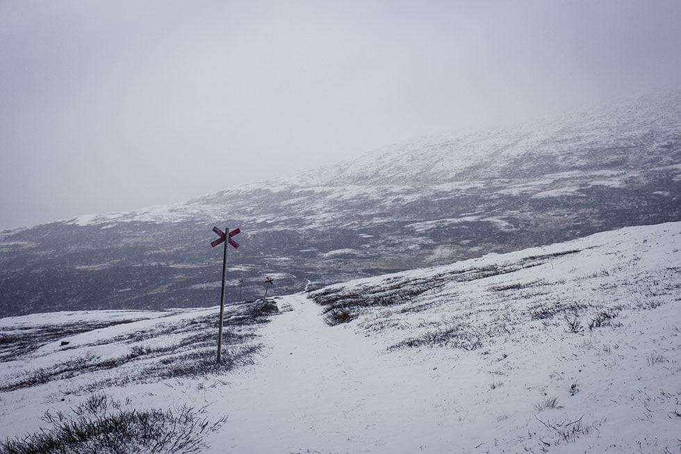 Det snöar i Åre