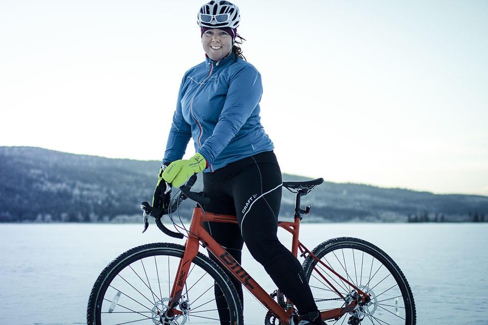 Vintercykling och Vintervättern