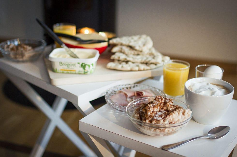 frukost framför vinterstudion traningsgladje.se
