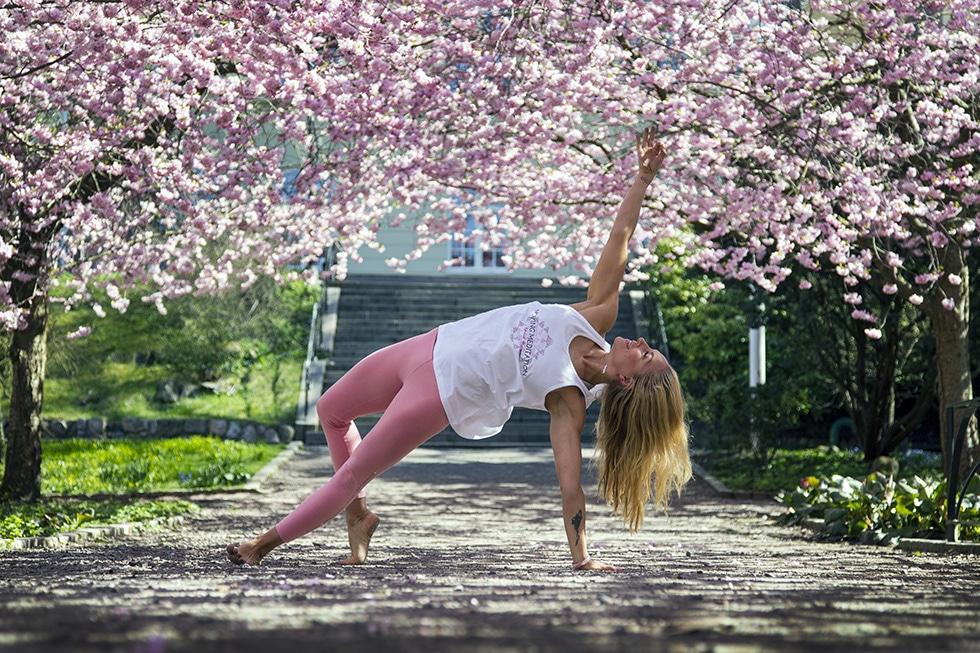 Johanna Andersson – vår egen yogaguru