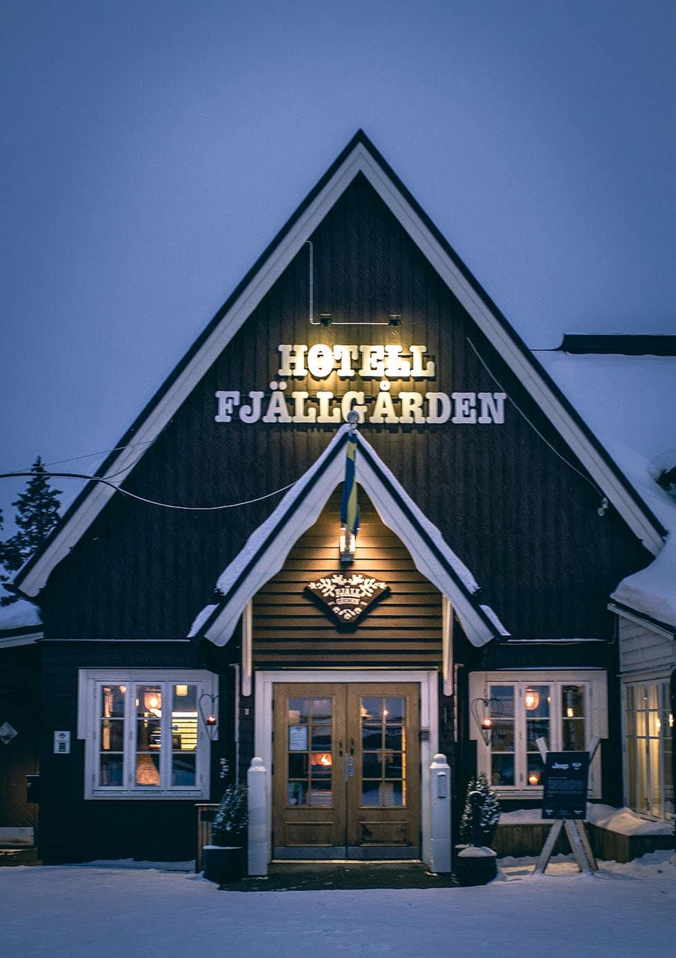 Hotell Fjällgården Åre frukost
