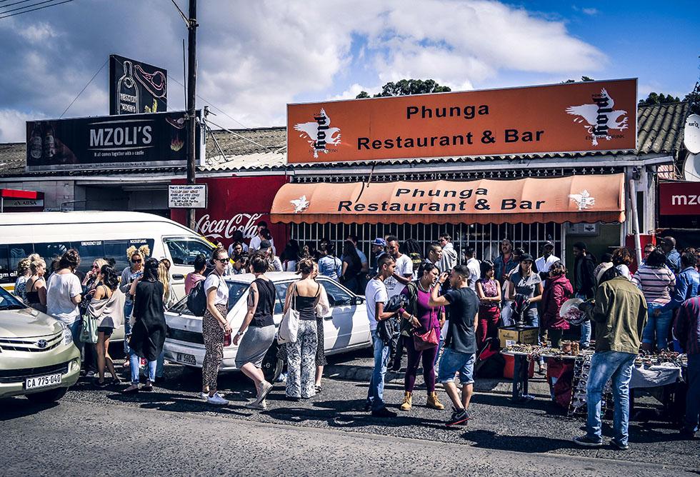 Cape town Mzoli's Gugulethu