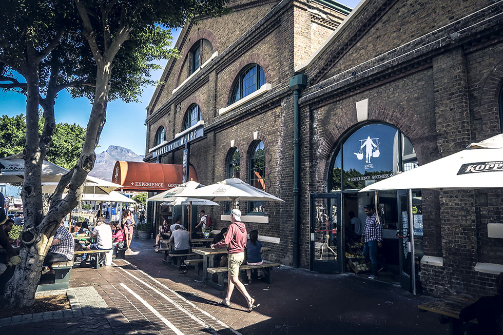 Cape town Waterfront Food Market
