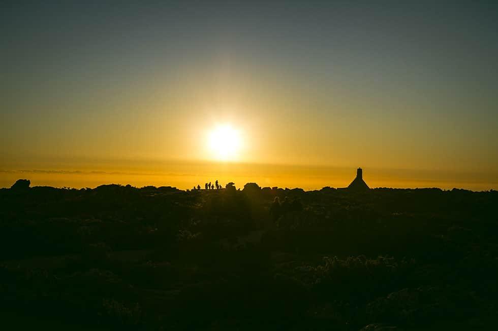 Taffelberget Kapstaden solnedgång