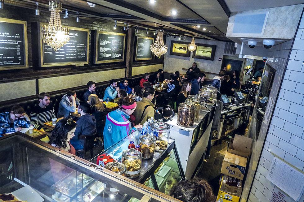 Boston Thinking cup café Newbury street