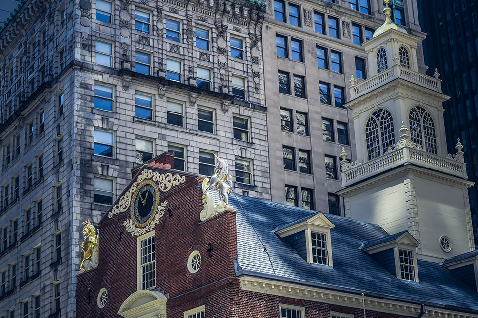 5 bilder från Boston