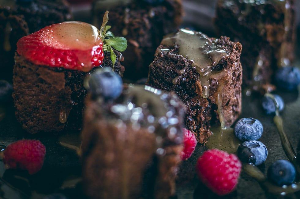 Glutenfria brownies recept