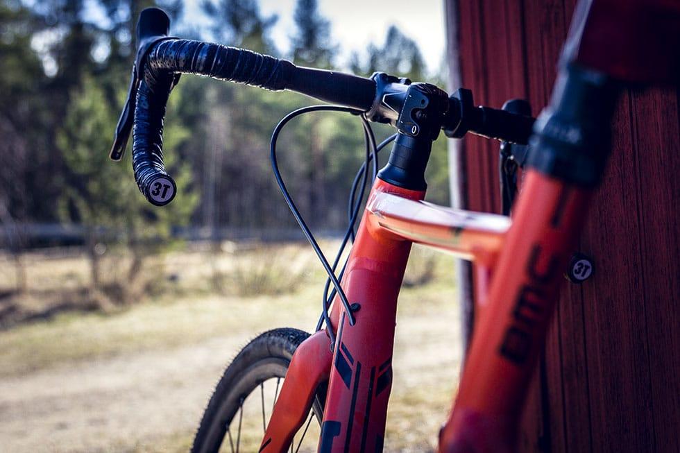 Skogscykling på cyclocross