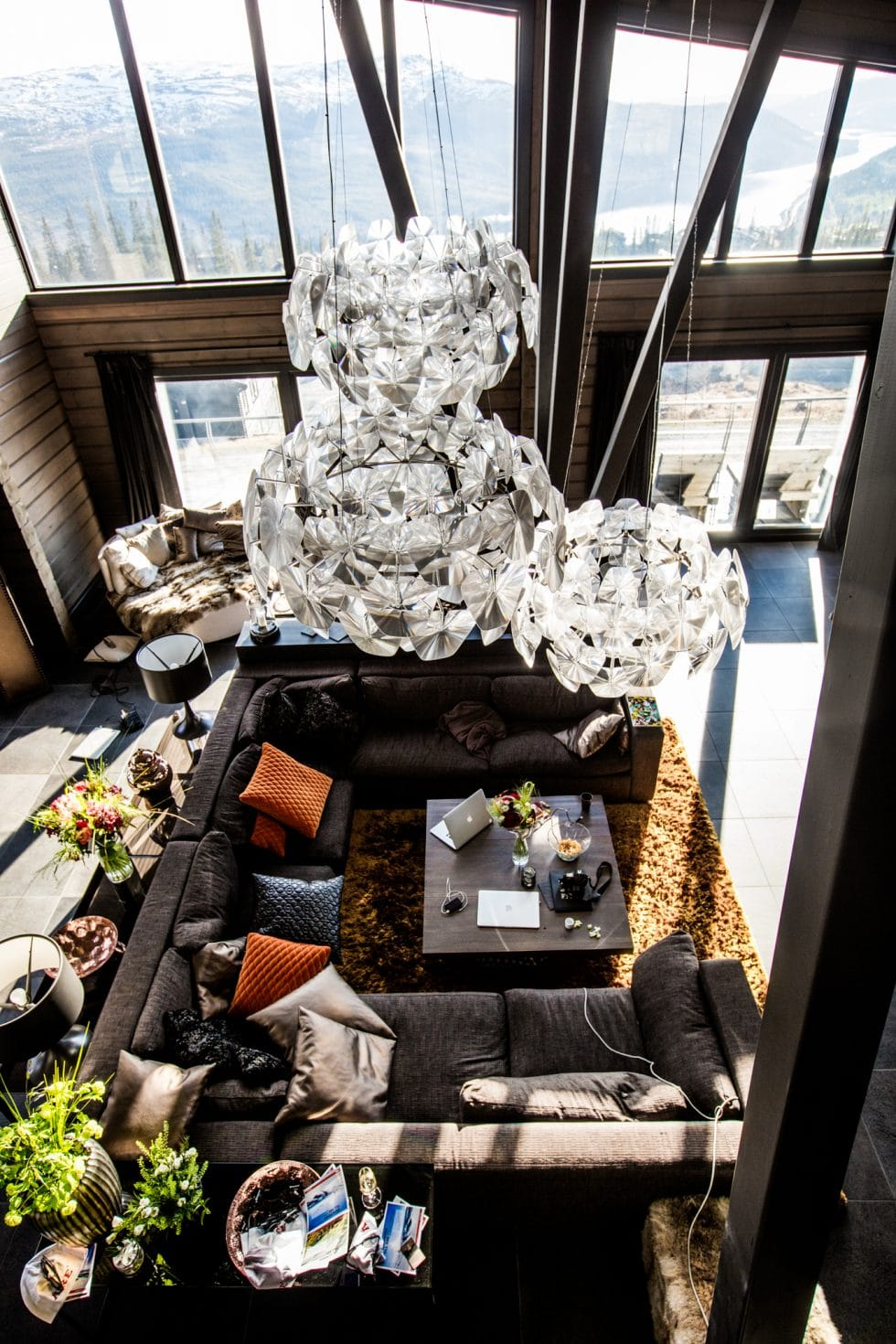 Träningsglädje blogg i Åre - Sara Rönne hyr The Villa på Copperhill