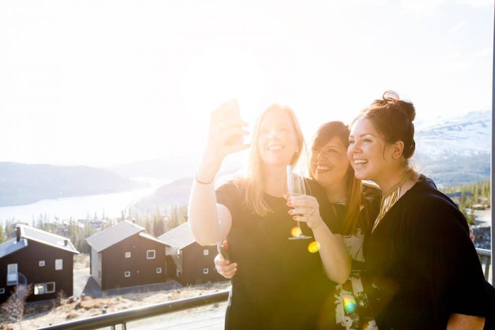 Bloggen Träningsglädje hyrde The Villa i Åre