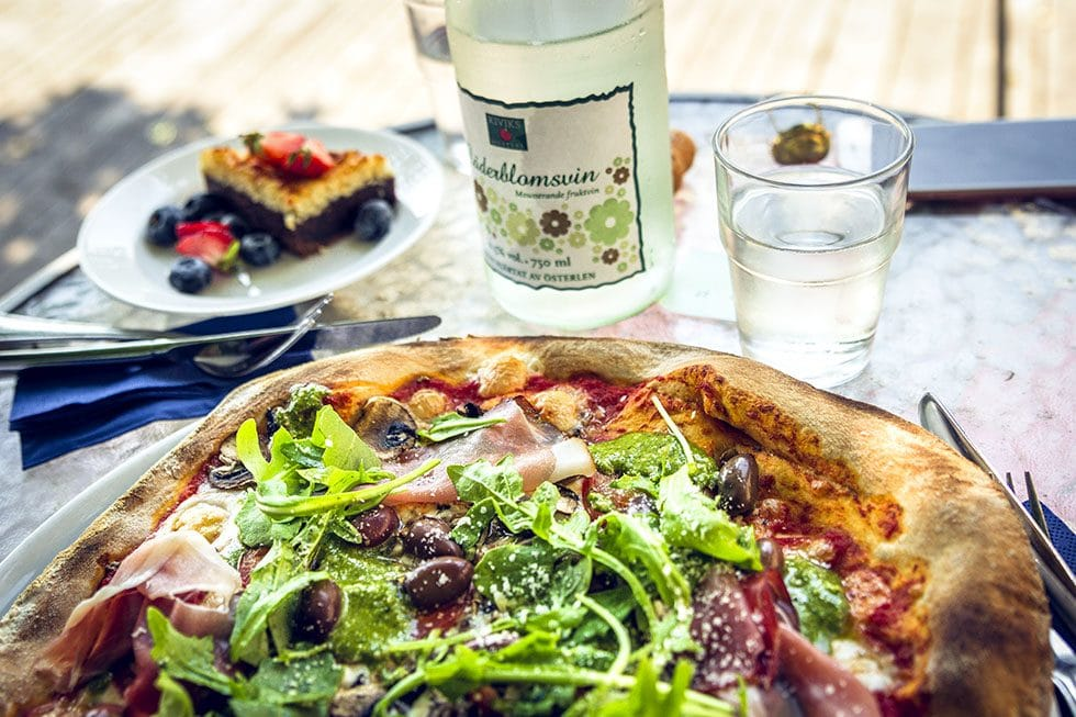 Kronovalls slott pizza
