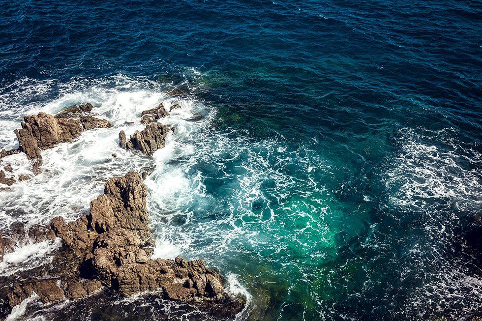 Antibes strandpromenad