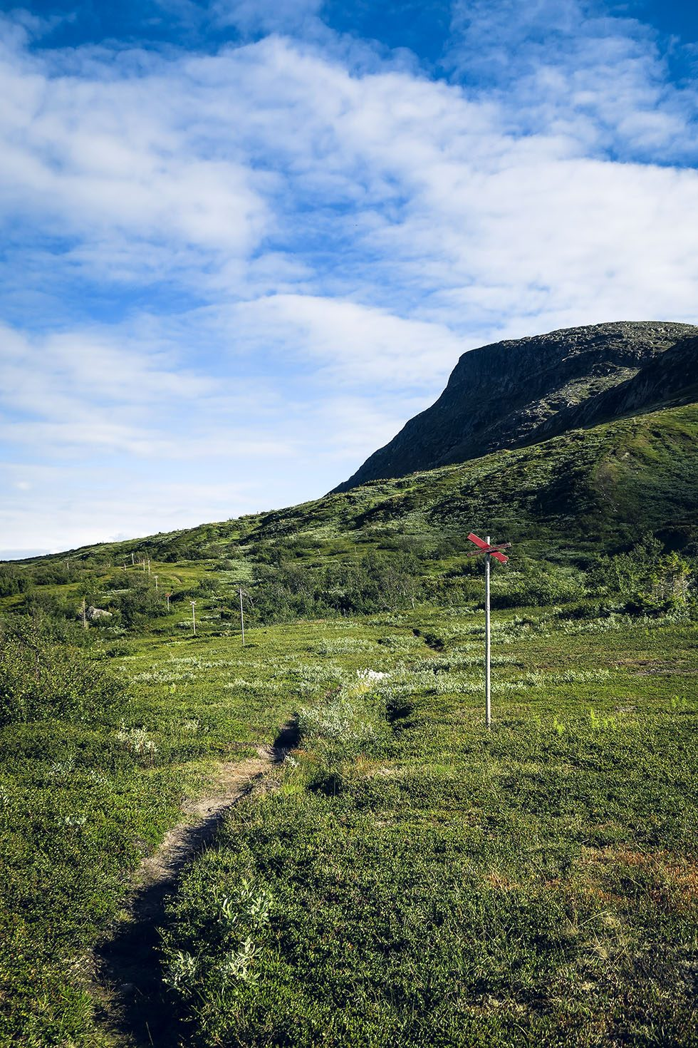 Blåsten Åre trail Åreskutan