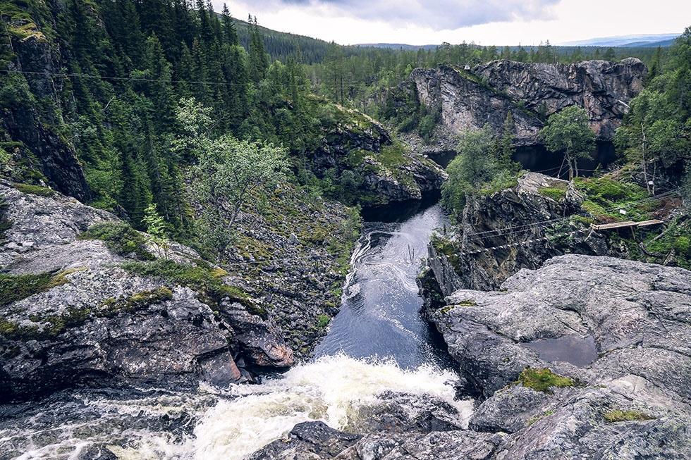 Brudslöjan vattenfall Storlien
