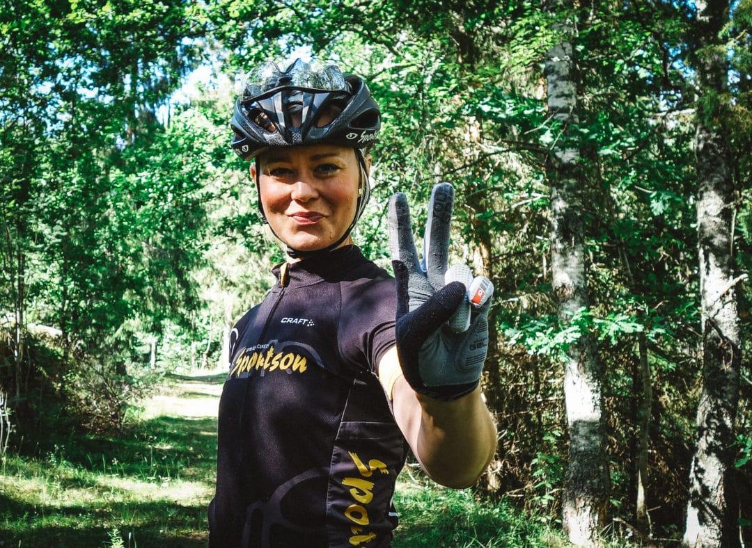 Sandra Carlander – snabb cyklist som körde i första snabbgruppen på  Vätternrundan. Här kan ni förresten se mer av henne! 6d2d73a20c66f