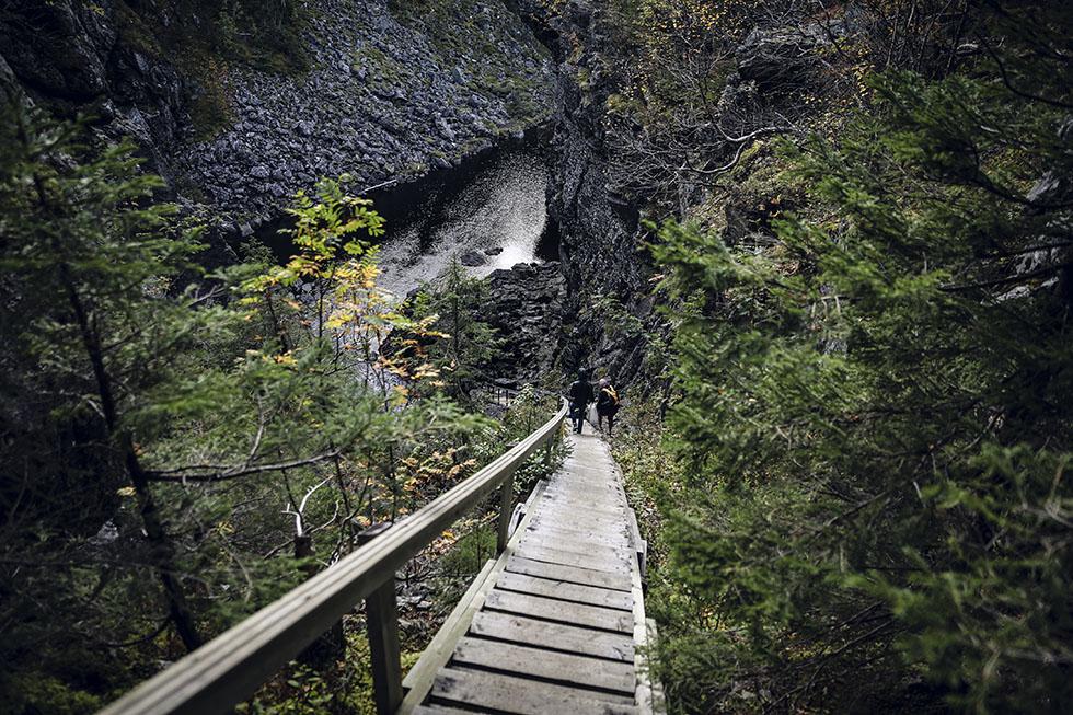 Brudslöjan vattenfall