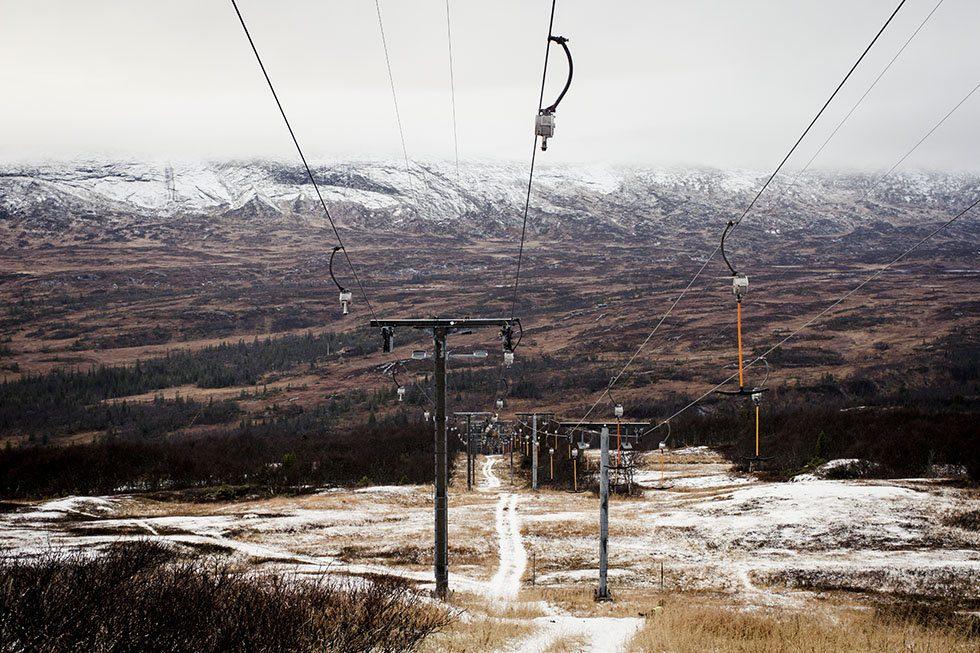 första snön i åre 03