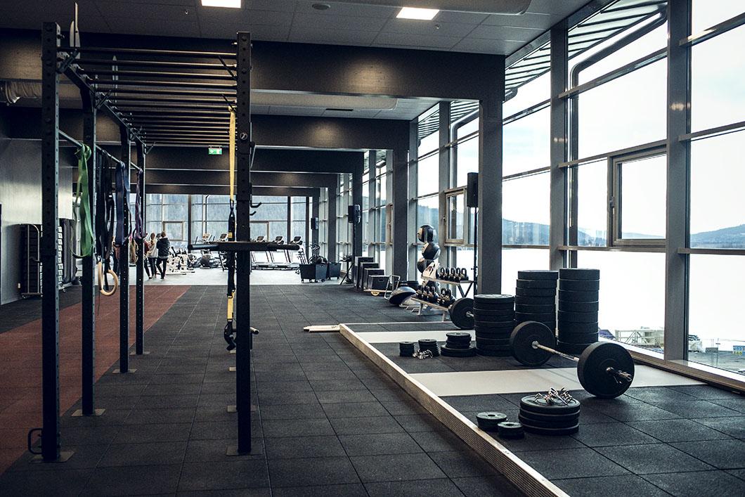 gym i åre