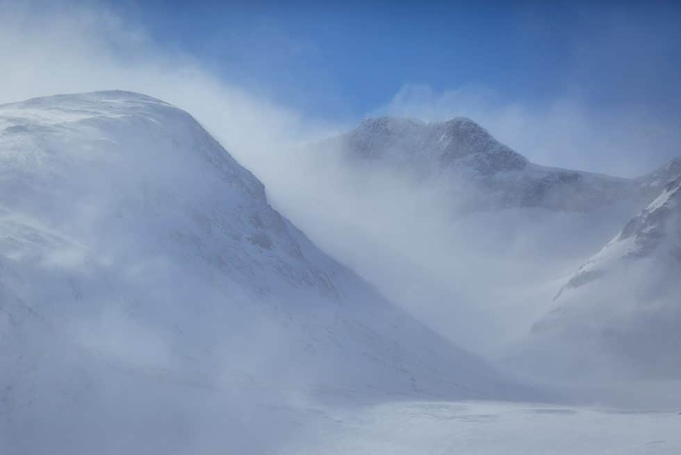 När vi åkte snövessla till Sylarna