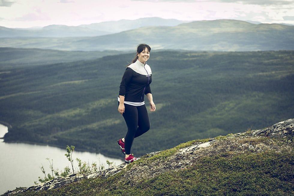 Sara Rönne träningsglädje