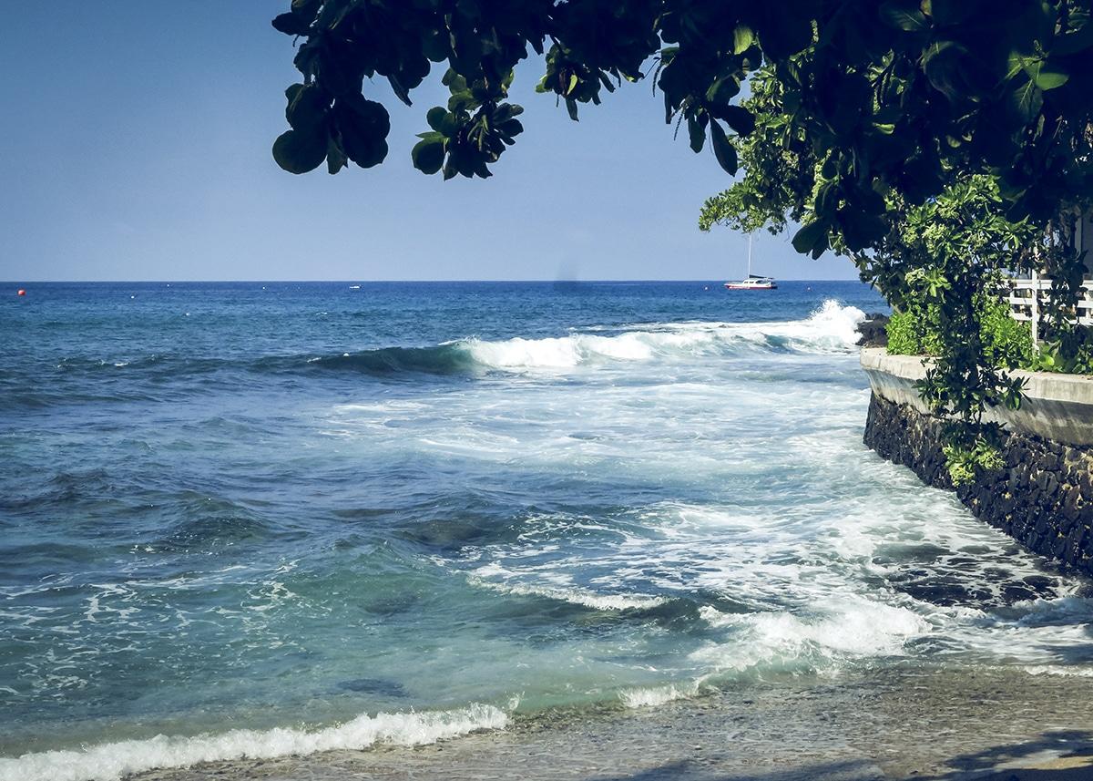 Dagarna i Kailua-Kona på Hawaii