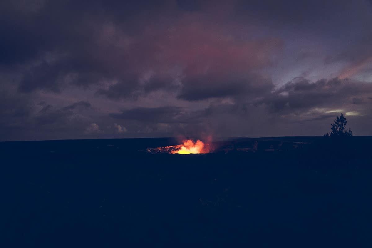 Hawaii vulkan