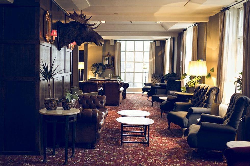 Åregården hotell lobby