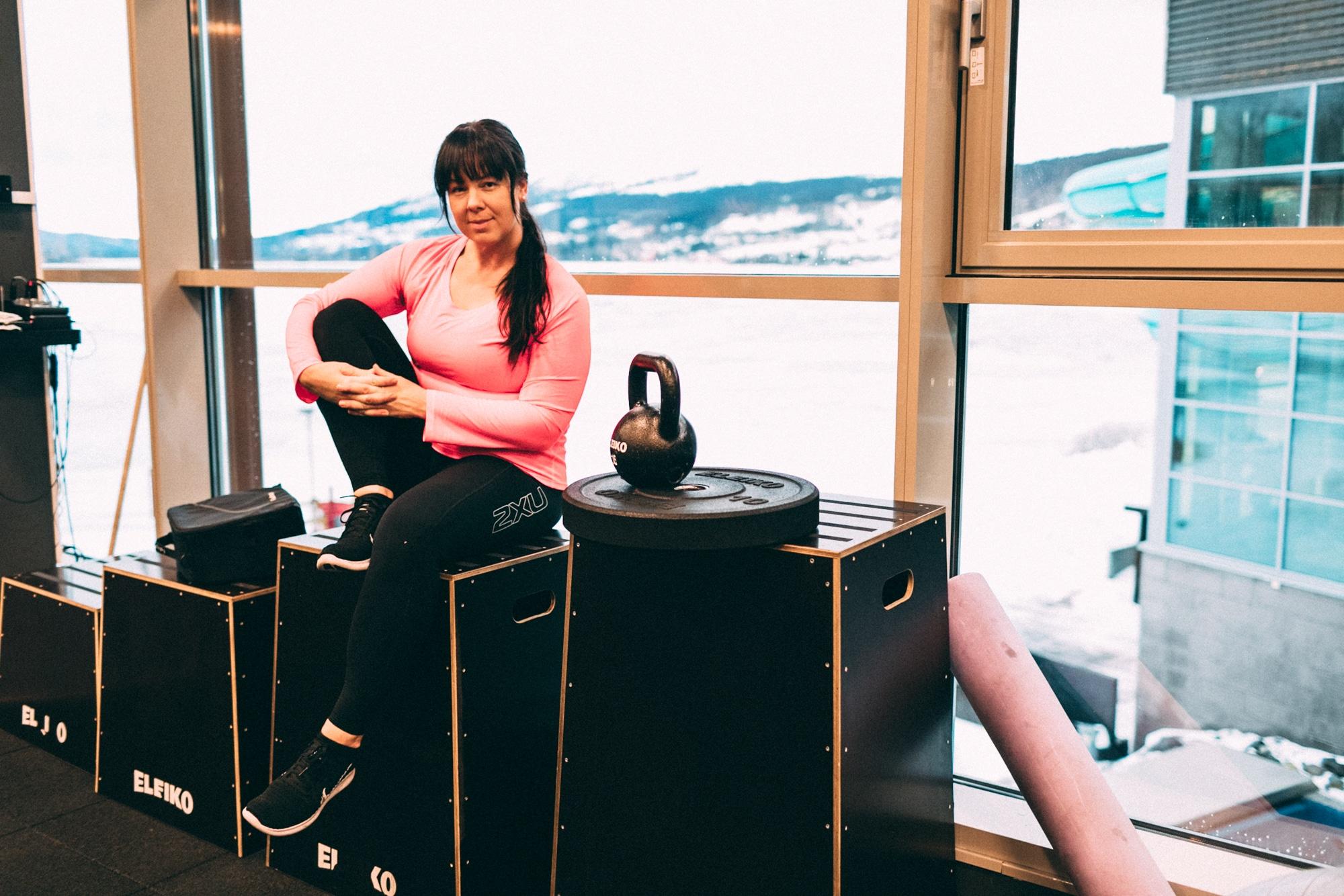Sara Rönne träning