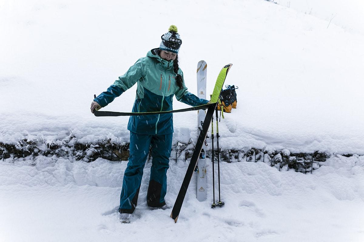 Sara Rönne skidor
